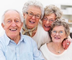 Elder Care Choices in Olympia WA - group of seniors